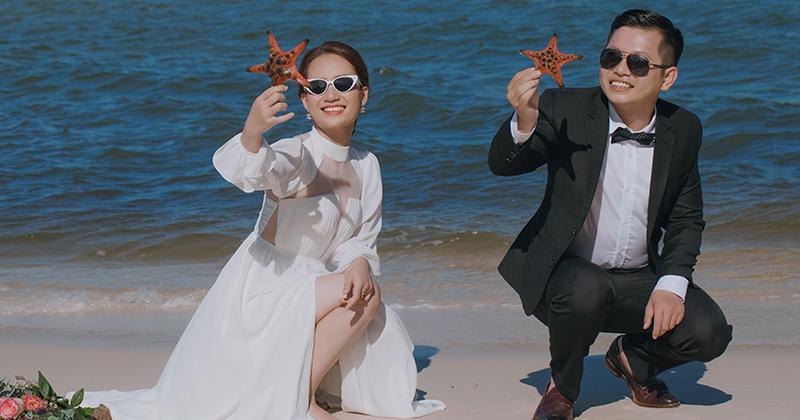 Bí quyết chụp ảnh cưới đẹp đối với cô dâu có thân hình mũm mĩm