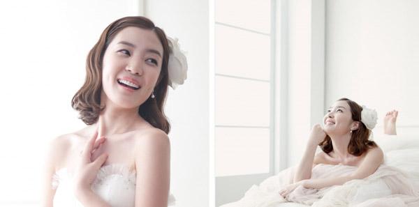10 kiểu tóc cưới Hàn Quốc đẹp tự nhiên