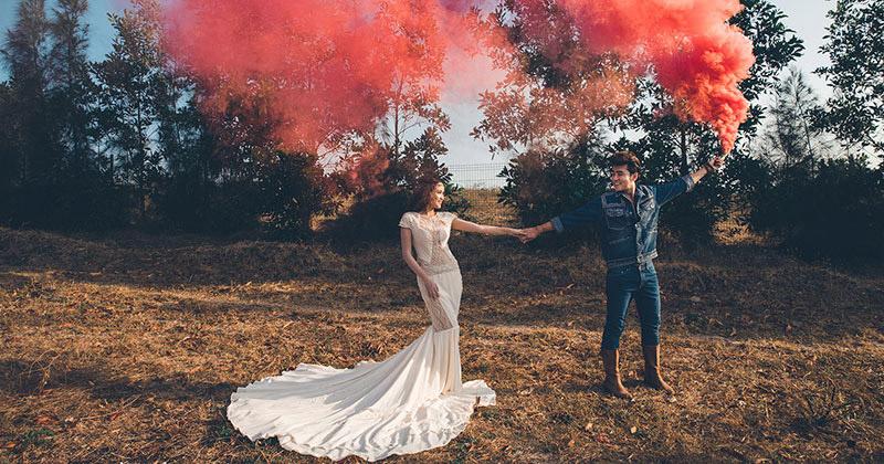 Hậu trường chụp ảnh cưới ngoại cảnh Anh Tâm - Phương Hằng