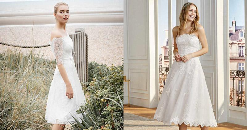 13 chiếc váy cưới ngắn dành cho cô dâu yêu thích sự mới mẻ
