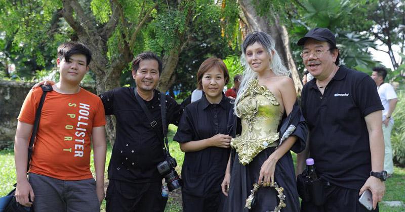Nhiếp ảnh gia Ngọc Huy sang Singapore học hỏi kinh nghiệm từ Sails Chong