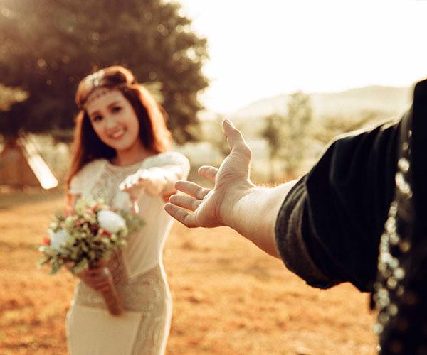 """Ngất ngây với bộ ảnh cưới """"chốn thiên đường"""" của diễn viên Phương Hằng - Anh Tâm"""