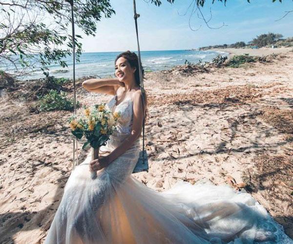 Ngất ngây với bộ ảnh cưới của diễn viên Phương Hằng - Anh Tâm