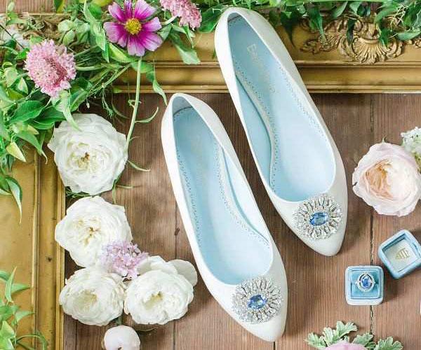 12 mẫu giày cưới xinh xắn cho cô dâu ngày cưới