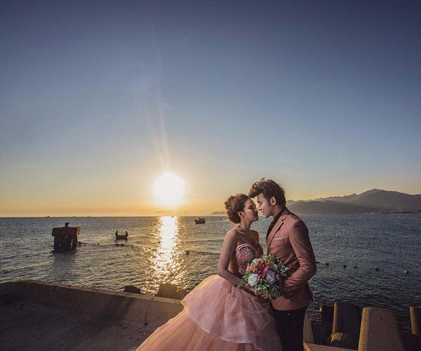Ảnh cưới đẹp như tranh vẽ của Anh Tâm - Phương Hằng