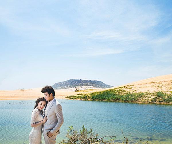 Ảnh cưới đẹp như tranh vẽ của Phương Hằng - Anh Tâm