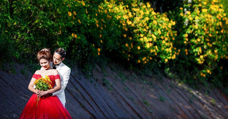 Ghi lại khoảnh khắc khó quên trong album cưới Đà Lạt cùng Ngọc Huy Studio