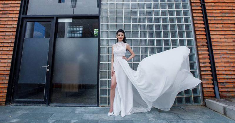Những mẫu váy cưới đuôi cá giúp cô dâu lộng lẫy hơn trong ngày cưới