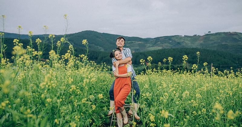 Top 5 concept chụp hình cưới Đà Lạt không thể bỏ qua