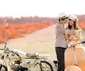 Album ảnh cưới: Mùa thu về trên những yêu thương