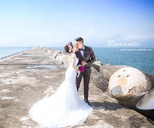 Album cưới Đà Nẵng Nơi cổ điển và hiện đại giao thoa