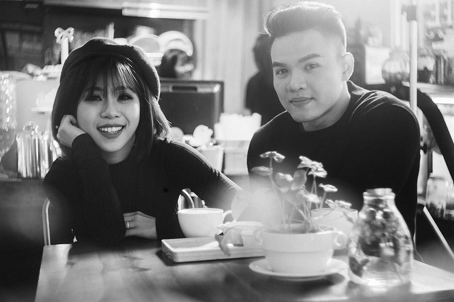 Album cưới Khoảng Khắc - ngoại cảnh Sài Gòn