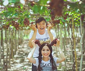 Album cưới Phan Rang: Tươi xanh cùng vườn nho Ba Mọi