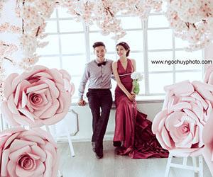 Album cưới phong cách Hàn Quốc chụp ngay tại Studio