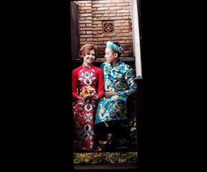 Album cưới phong cách hoài cổ phảng phất nét hiện đại cùng Ngọc Huy