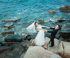 Album cưới Thiên Đường Biển tại Ngọc Huy Studio