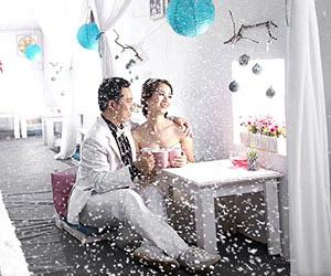 Khi mùa đông ngập tràn album cưới tại Ngọc Huy