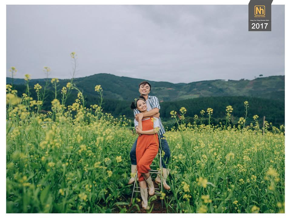 Ảnh cưới Đà Lạt đẹp như mơ với ngân sách tiết kiệm cùng Ngọc Huy