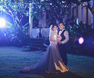 Ảnh cưới đêm đẹp lung linh tại TP HCM