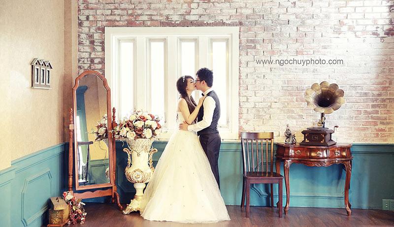 Ảnh cưới đẹp với tông màu nhẹ nhàng