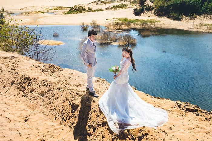 Ảnh cưới đẹp như mơ của ca sĩ cặp đôi Anh Tâm - Phương Hằng