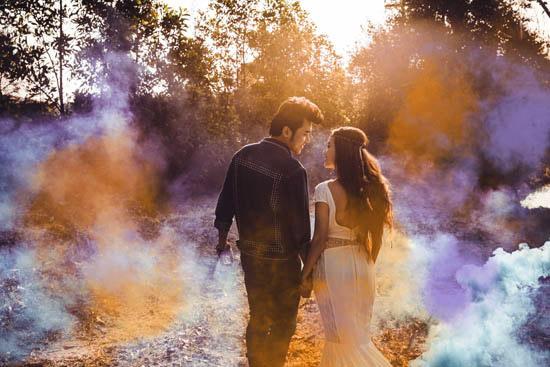 Ảnh cưới đẹp như mơ của cặp đôi diễn viên Phương Hằng và ca sĩ Anh Tâm