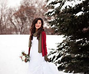 Ảnh cưới đẹp trong mùa đông lạnh giá