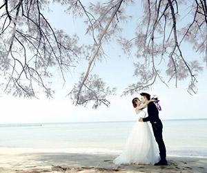 Chụp ảnh cưới đẹp và lãng mạn ở Phú Quốc