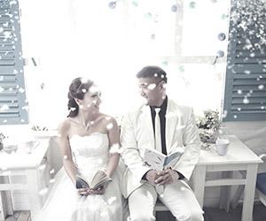 Ảnh cưới Hàn Quốc lãng mạn kể về chuyện tình mùa đông