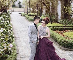 Ảnh cưới lãng mạn của cặp đôi nên duyên từ giảng đường