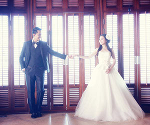 Ảnh cưới lãng mạn của diễn viên Duy Nhân