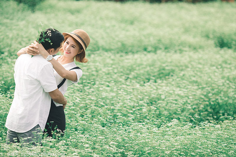 Chụp hình cưới ngoại cảnh Hồ Cốc