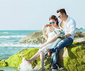 Ảnh cưới ngọt ngào tại thành phố biển