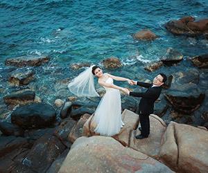 """Ảnh cưới như truyện """"ngôn tình"""" tại Phan Rang của cặp đôi"""