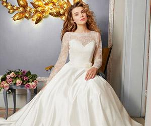 Áo cưới lụa mềm mại