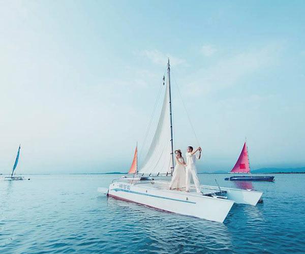 Bến du thuyền Vũng Tàu - Bối cảnh cực sang cho album cưới
