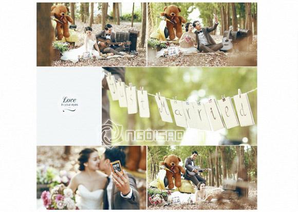 Bộ ảnh cưới đẹp chưa từng công bố của Duy Nhân