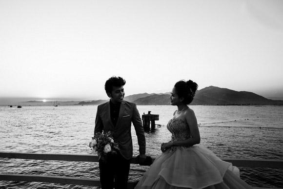 Bộ ảnh cưới đẹp như mơ của ca sĩ cặp đôi Phương Hằng - Anh Tâm