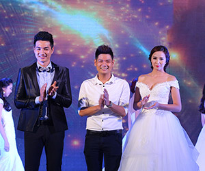 Ngọc Huy giới thiệu BST áo cưới tại Thế Giới Thời Trang