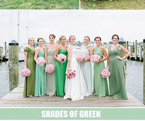 Các xu hướng màu sắc đẹp nhất năm 2016 cho váy phù dâu