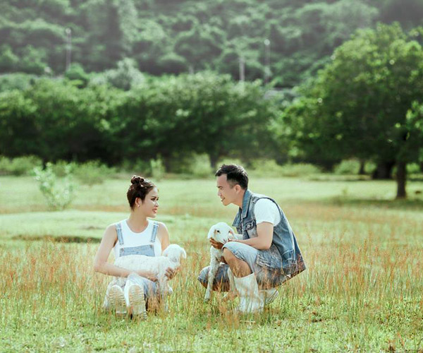 Cánh đồng cừu - Điểm chụp hình mới nổi tại Phan Thiết