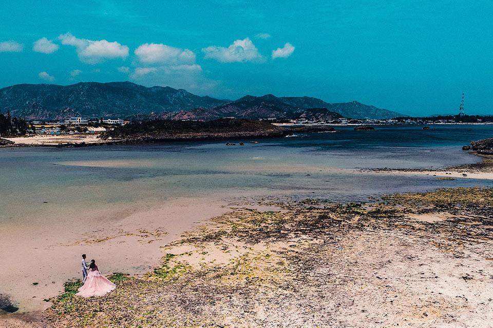 Quay phim, chụp ảnh cưới bằng Flycam