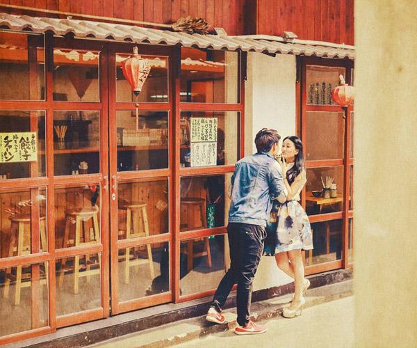 Chụp ảnh cưới bối cảnh Nhật ngay tại Sài Gòn