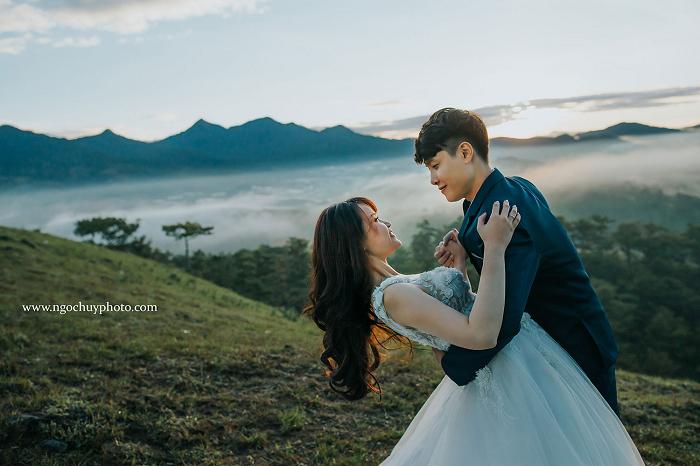 Những địa điểm chụp ảnh cưới đẹp ngất ngây tại Đà Lạt
