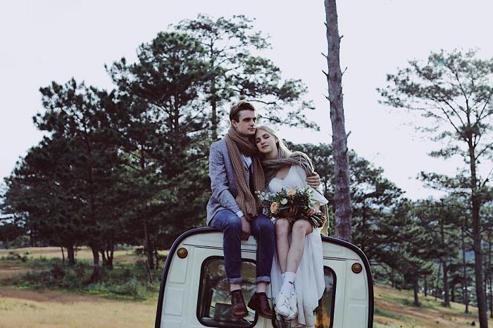 Trải nghiệm chụp ảnh cưới Đà Lạt đầy mới lạ và hấp dẫn cùng Ngọc Huy Pro Studio