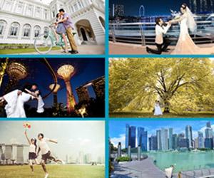 Chụp ảnh cưới và xem bóng đá tại Singapore chỉ với 19 triệu