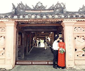 Chụp hình cưới Hội An