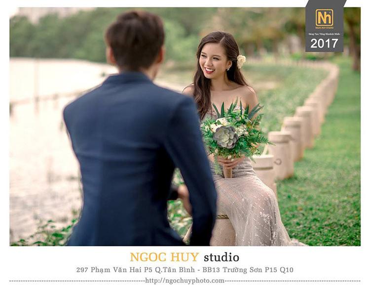 chụp hình cưới ngoại cảnh giá rẻ ngọc huy