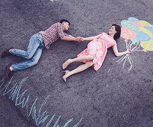 Chụp hình cưới sinh động với phấn màu