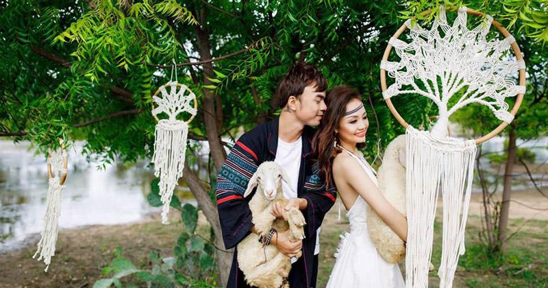 Tha hồ sáng tạo với đạo cụ chụp hình cưới với Ngọc Huy Studio